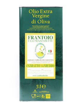Latta da 5L - Olio extra vergine di Oliva