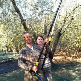 Maurizio e moglie frantoio mazzasette